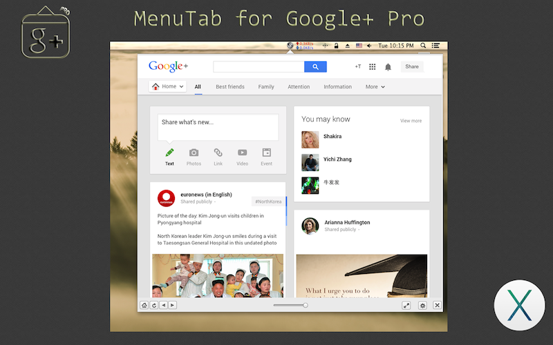 menutab for google+ pro copy